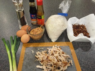 Ingredients for Nasi Goreng