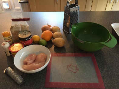Ingredients at the ready