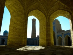 Bukhara minaret