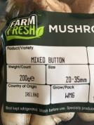 Irish mushrooms