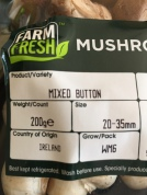 Irish mushrooms