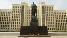 Lenin Monument, Minsk House of Government