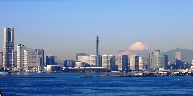 Tokyo and Mt Fuji