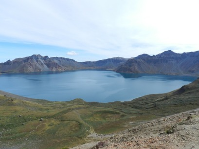 Mt Paektu, North Korea