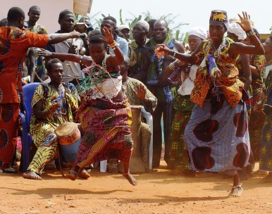 Voodoo celebrations Benin