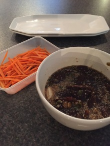 Bulgogi (grilled marinated beef)