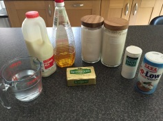 Ingredients for Saint Lucia Hot Bakes