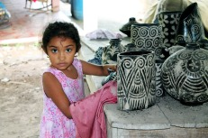 Girl from Goascorán, Honduras