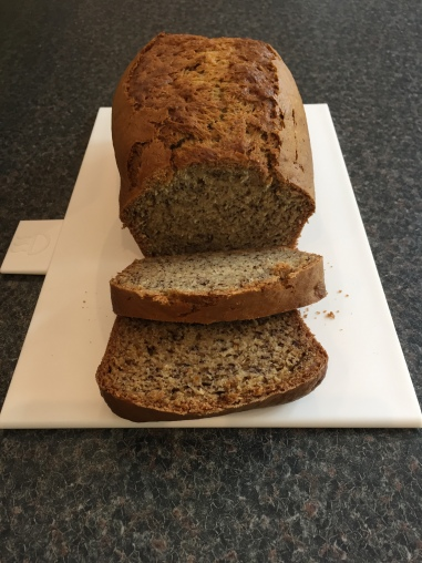 Honduran banana and coconut bread