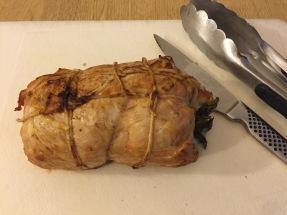 Morcacie Plnene Prsia (stuffed turkey breast)