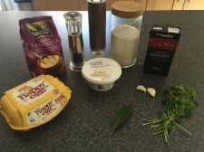 Ingredients for Maltese Ravjul