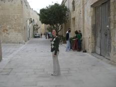 Me in Mdina, Valetta, Malta in 2008