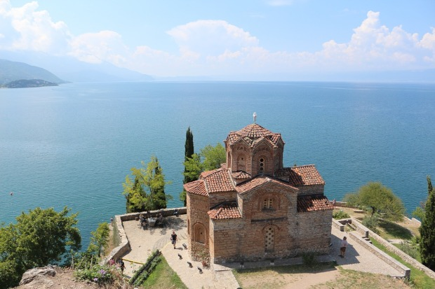 Church of Sveti Jovan at Kaneo, Macedonia