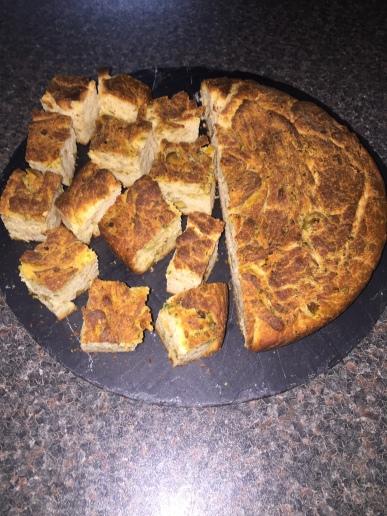 Khubzah bil Ashab (Libyan Herb Bread