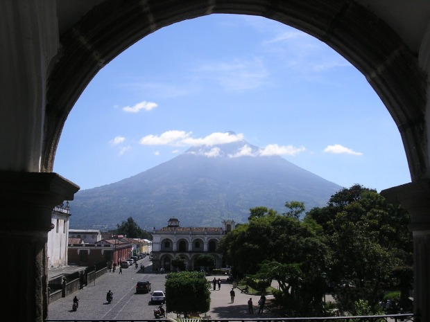 Volcan di Agua, Antigua, Guatemala