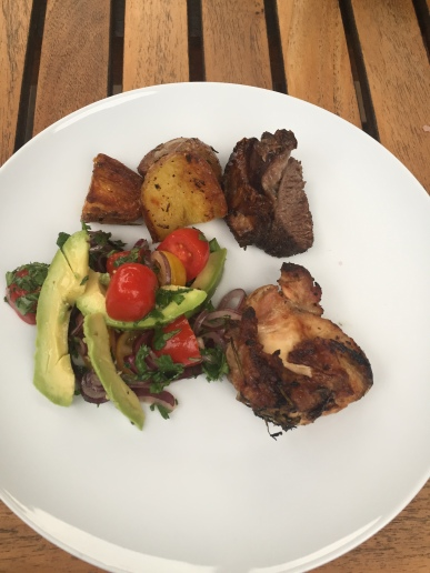 Nyama Choma with Kachumbari