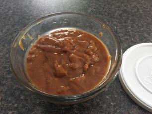 Hoisin peanut dipping sauce