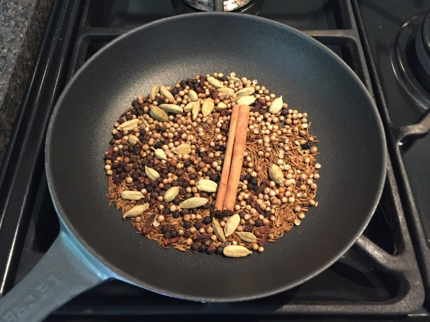 Making the Hawaij Spice