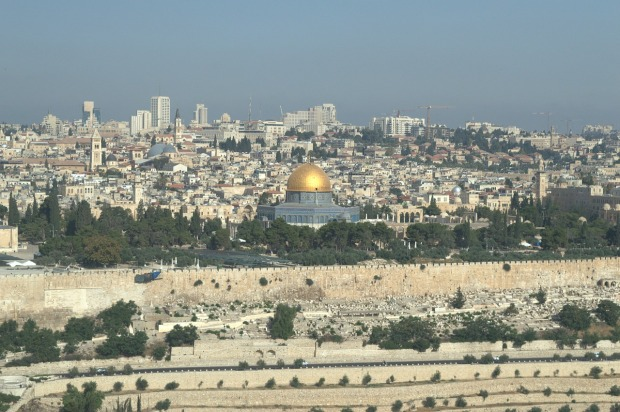 Jerusalem's Western (wailing) Wall and Temple Mount