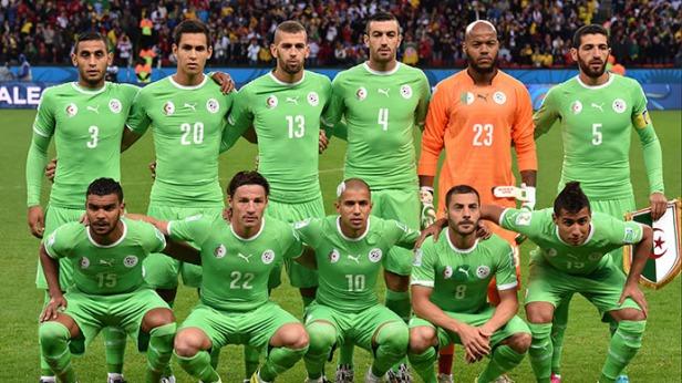 Algerian football team