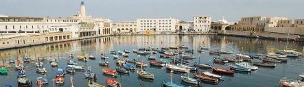 Algiers port