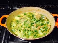 Khoresht-e Karafs (lamb and celery stew)