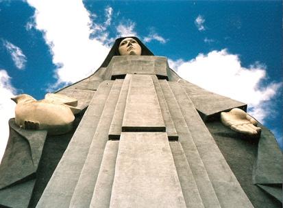 Monument to the Virgen de la Paz en Trujillo, Venezuela