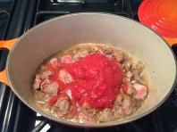 Skoudehkaris (spiced lamb stew)spiced lamb stew)