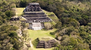 Mayan ruin at Xunantunich