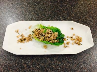 Larb (marinated meat salad)