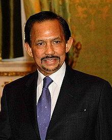 Hassanal Bolkiah, the Sultan of Brunei