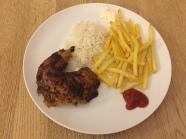 Pollo a la Brasa (Peruvian-flavoured rotisserie chicken)
